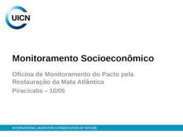 UICN - Monitoramento Socioeconômico-uicn